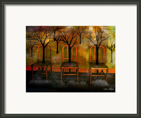 Waiting For A Miracle Framed Print By Sabine Stetson