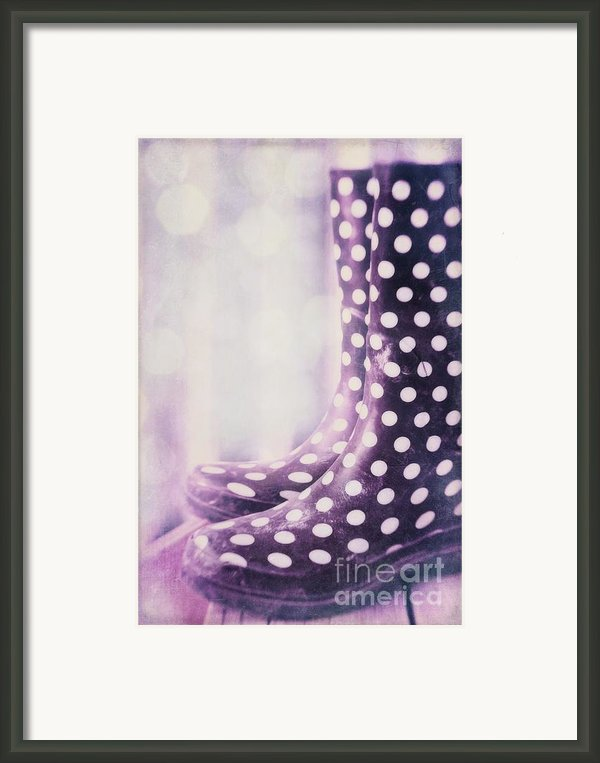 Waiting For The Rain Framed Print By Priska Wettstein