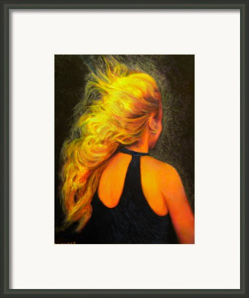 Waiting In The Wind Framed Print By Michael Durst