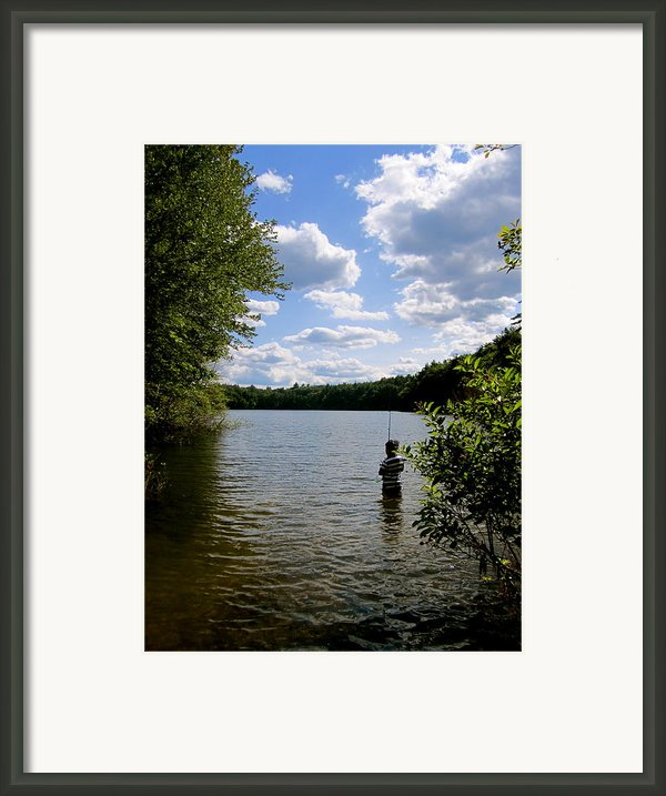 Walden Pond  Framed Print By Rae Breaux