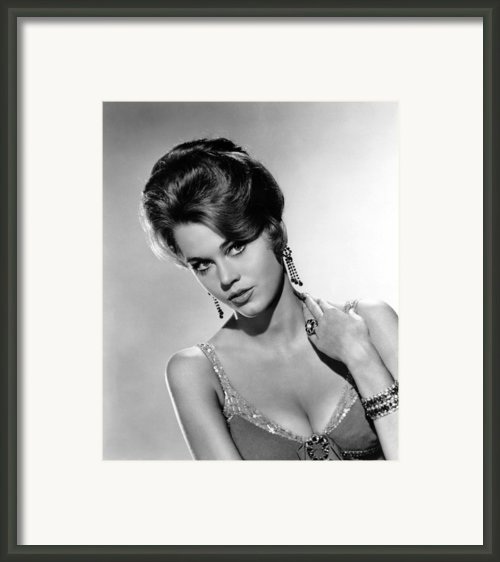 Walk On The Wild Side, Jane Fonda, 1962 Framed Print By Everett
