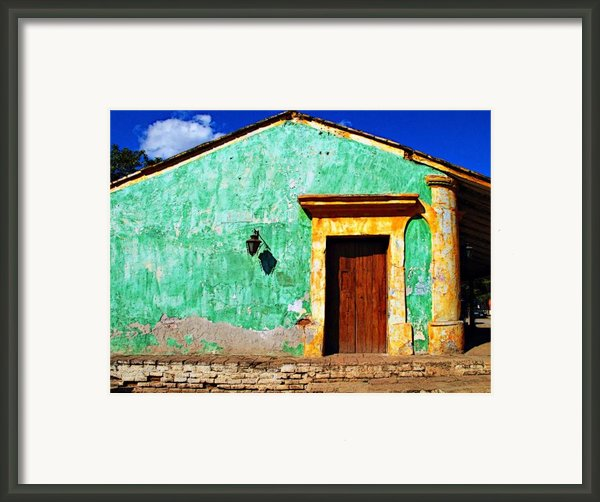 Wall Of Sun By Darian Day Framed Print By Olden Mexico