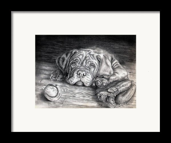 Want To Play Framed Print By Kathleen Kelly Thompson