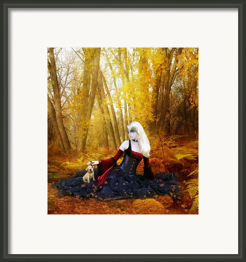 Warm Friends Framed Print By Karen Koski