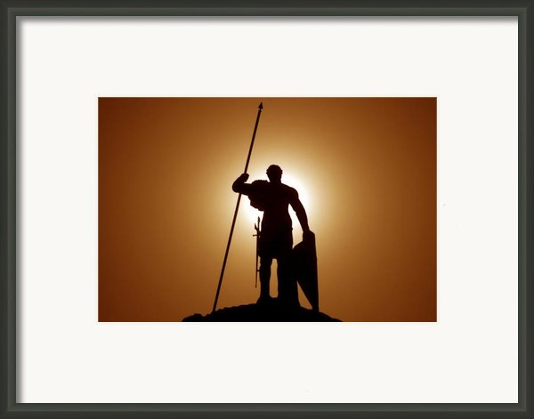 Warrior Framed Print By David Lee Thompson