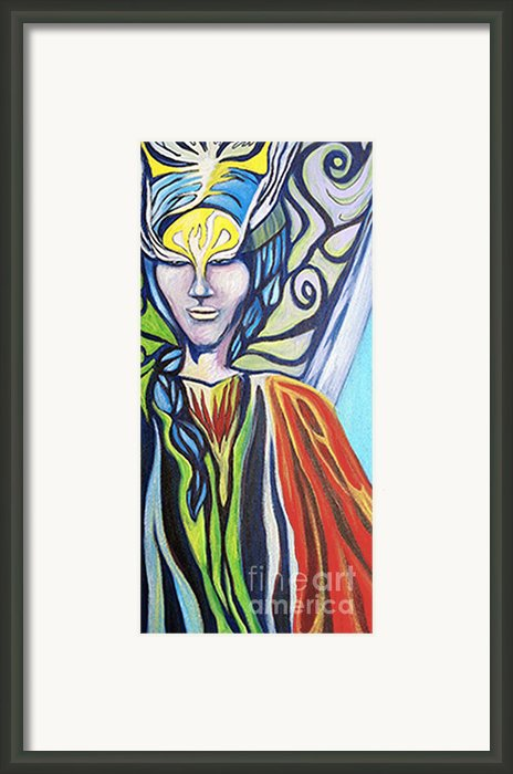 Warrior Framed Print By Laura Salazar