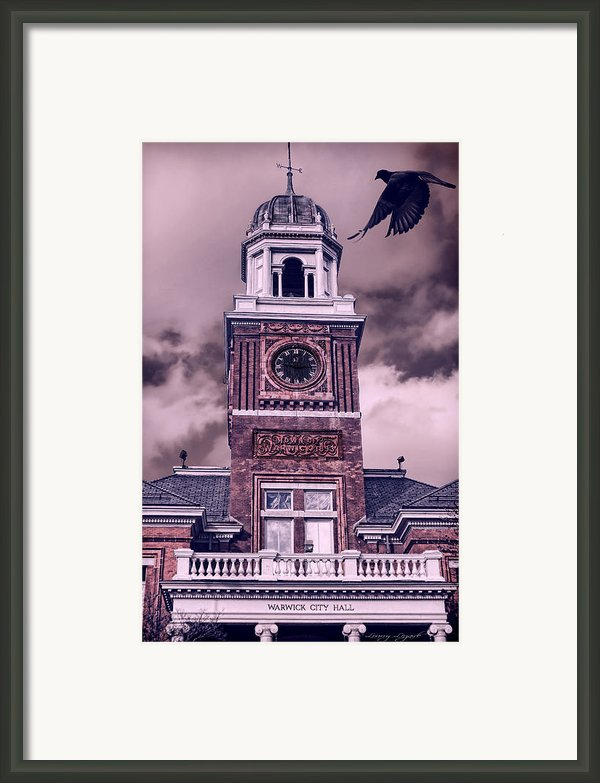 Warwick City Hall Framed Print By Lourry Legarde