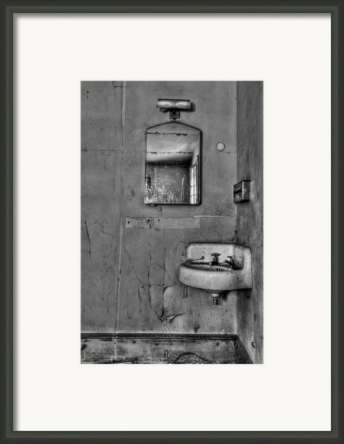 Wash Away Your Fears Framed Print By Evelina Kremsdorf