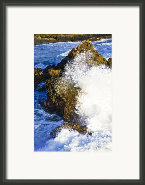 Wash My Sins Away Framed Print By Sarita Rampersad