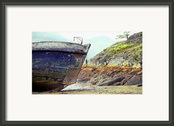 Washed Up Framed Print By John  Bartosik