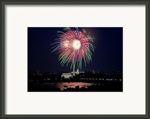 Washington Dc Fourth Of July Fireworks Framed Print By Carol M Highsmith