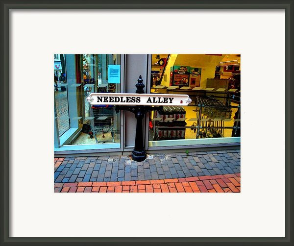 Waste Of Space Framed Print By Roberto Alamino