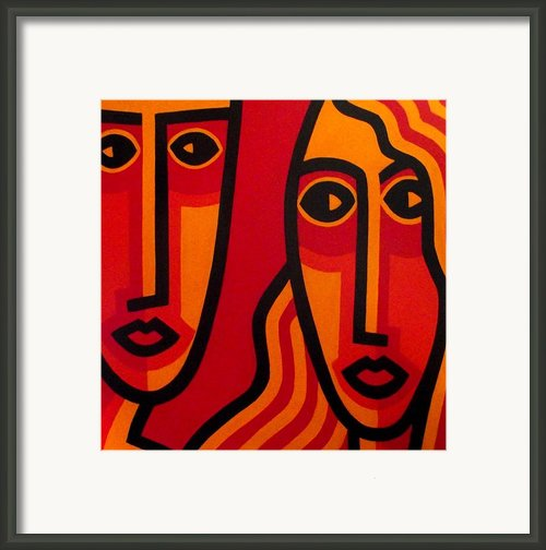 Watching Me Watching You Framed Print By John  Nolan
