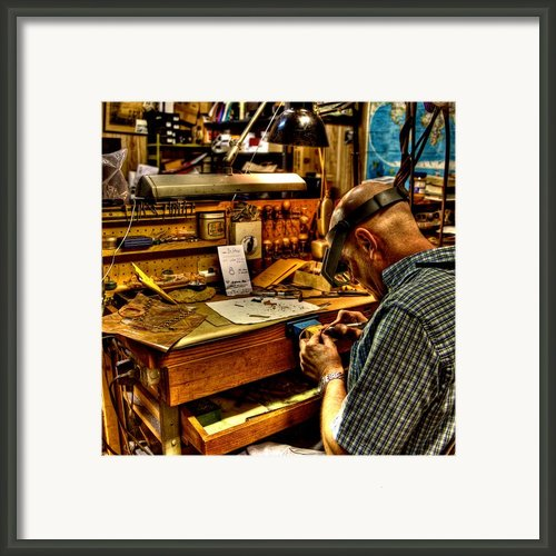 Watchmaker Framed Print By William Wetmore
