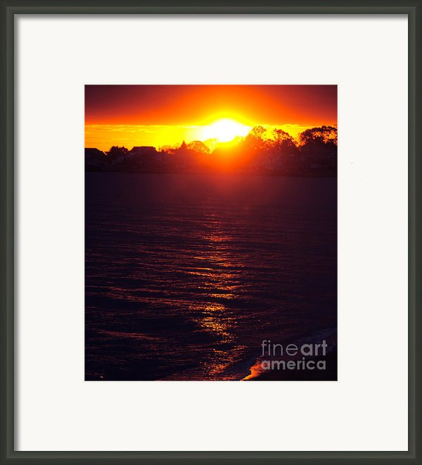 Water Dance Framed Print By Cindy Lee Longhini