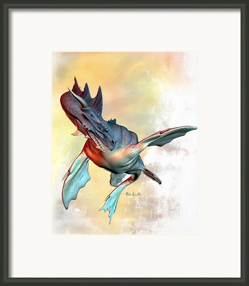 Water Dragon Framed Print By Bob Orsillo