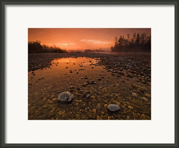 Water On Mars Framed Print By Davorin Mance