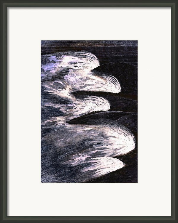 Water Series-sandbridge Framed Print By Al Goldfarb