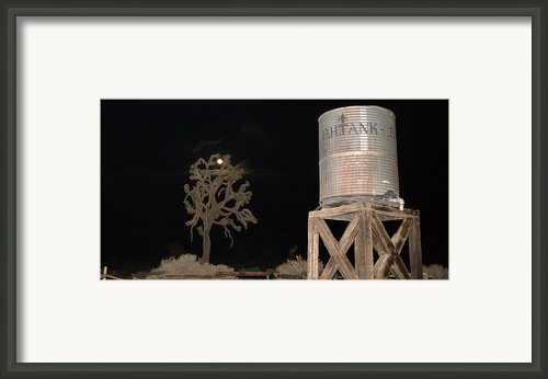 Water Tank Framed Print By Gilbert Artiaga