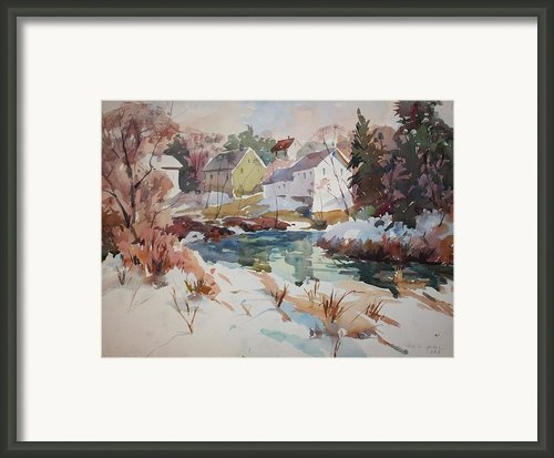 Watercolor Framed Print By Peter Spataro