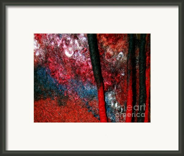 Waterfall Of Dreadlocks  Framed Print By Alexandra Jordankova