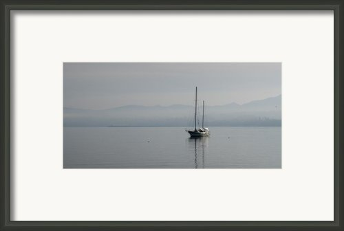 Waters Of Calmness Framed Print By Chad Davis