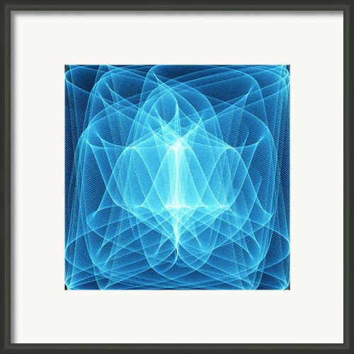 Wave Patterns Framed Print By Pasieka