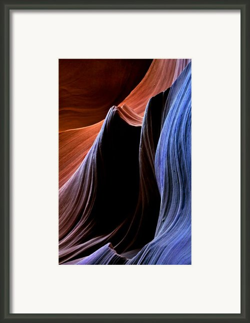 Waves Framed Print By Mike  Dawson