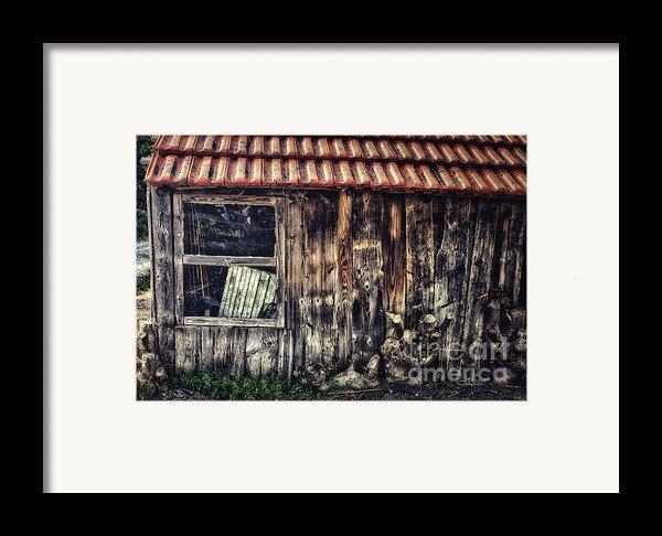 Wayside Framed Print By Jutta Maria Pusl