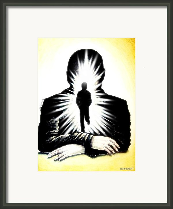 We Grew Up With The Hard Knocks Of Life We May Also Grow With Soft Touches Of The Soul Framed Print By Paulo Zerbato