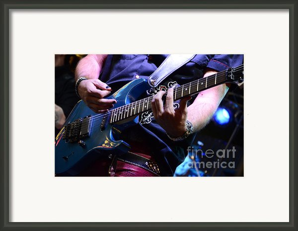 We Will Rock You Framed Print By Bob Christopher