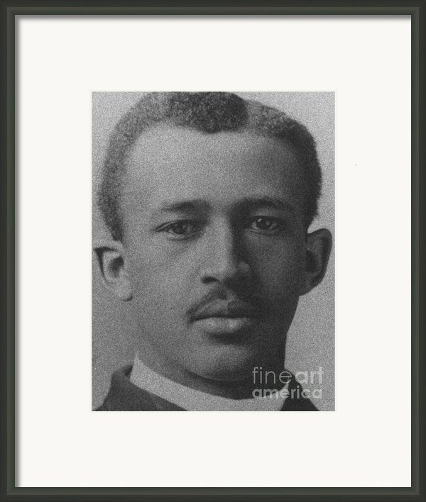 W.e.b. Du Bois, Civil Rights Activist Framed Print By Photo Researchers