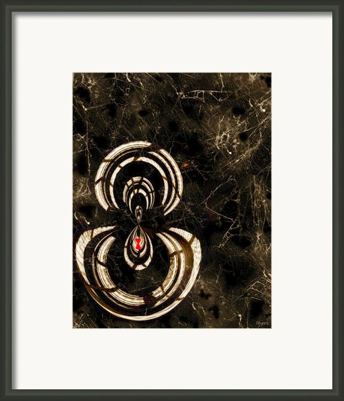 Web Mistress Framed Print By Paula Ayers
