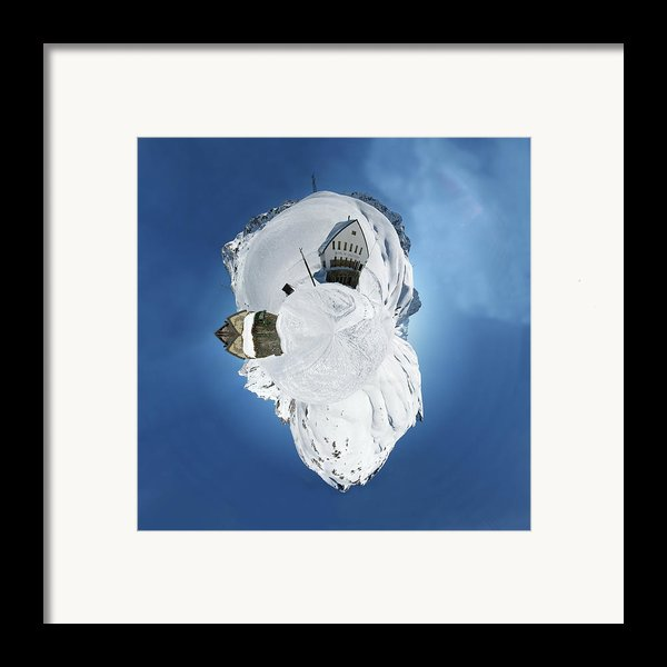 Wee Winter Hotel Framed Print By Nikki Marie Smith