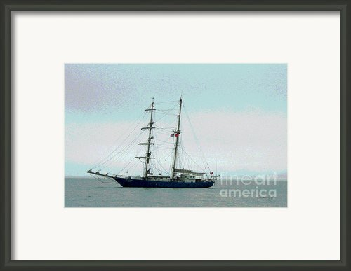 Weighing Anchor I Framed Print By Suzanne Gaff