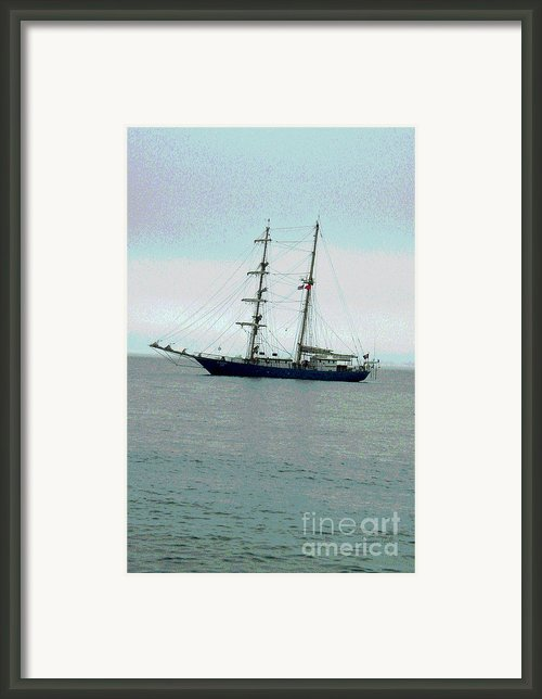 Weighing Anchor Ii Framed Print By Suzanne Gaff