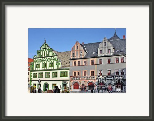 Weimar Germany - A Town Of Timeless Appeal Framed Print By Christine Till