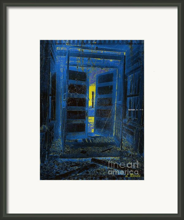 Welcome Home - We Have Been Waiting Framed Print By Leslie Revels Andrews