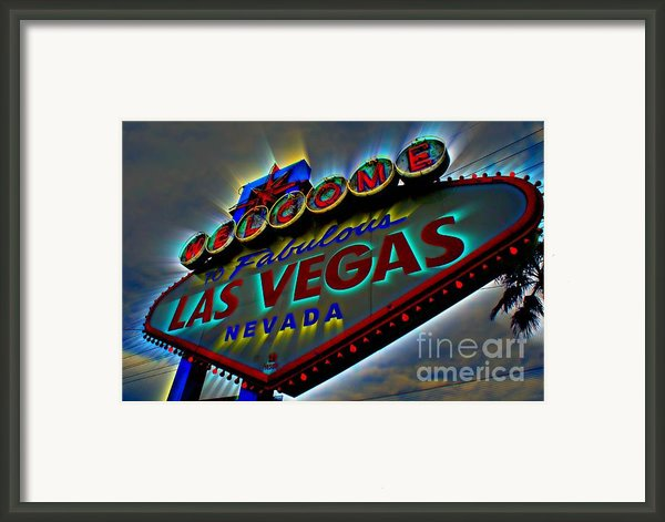 Welcome To Las Vegas Framed Print By Kevin Moore