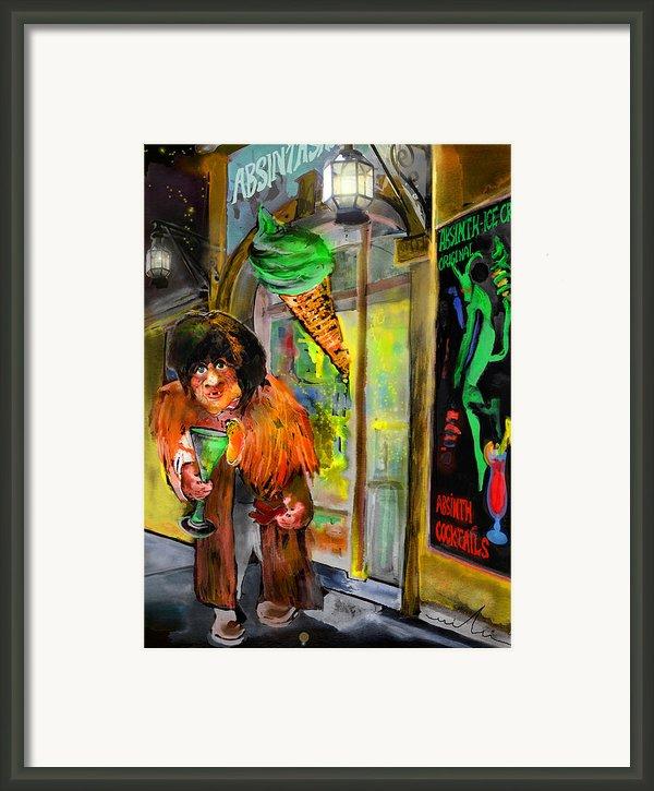 Welcome To The Czech Republic 02 Framed Print By Miki De Goodaboom