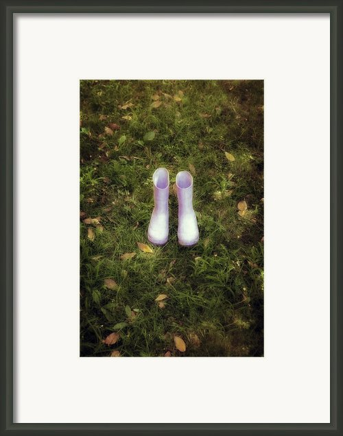 Wellingtons Framed Print By Joana Kruse