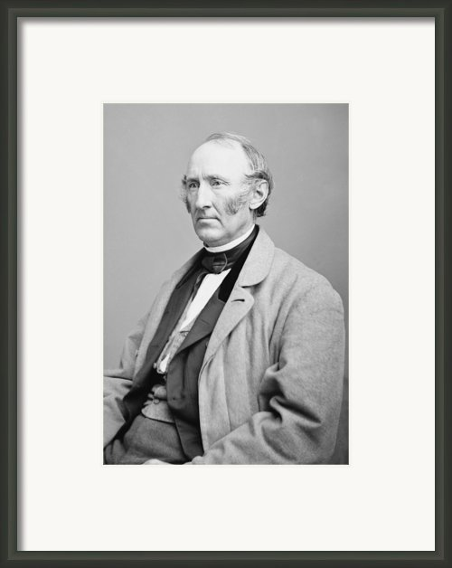 Wendell Phillips 1822-1884, American Framed Print By Everett