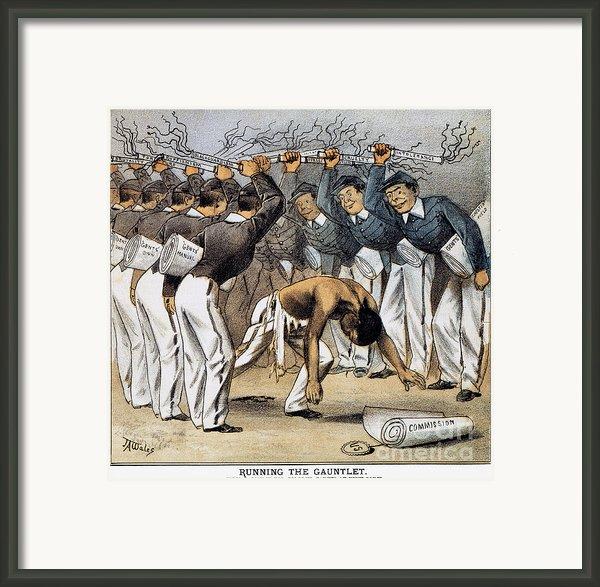 West Point Cartoon, 1880 Framed Print By Granger