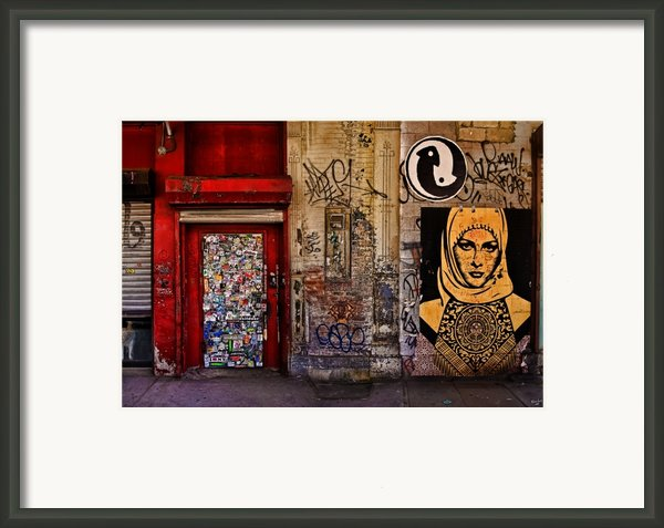West Village Wall Nyc Framed Print By Chris Lord