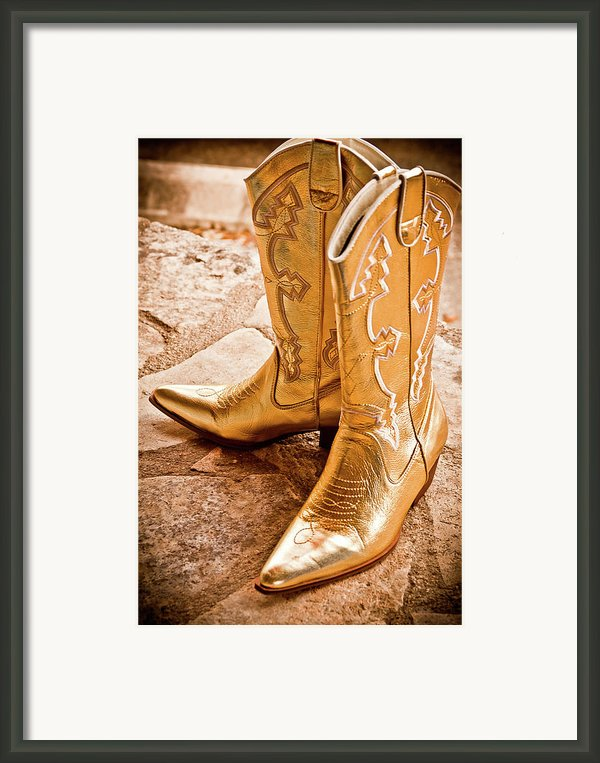 Western Wear Framed Print By Jill Smith