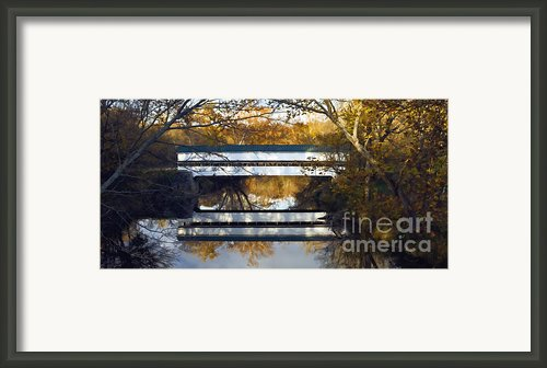 Westport Covered Bridge - D007831a Framed Print By Daniel Dempster