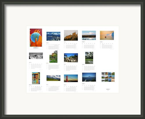 What A Wonderful World Calendar 2012 Framed Print By Juergen Weiss