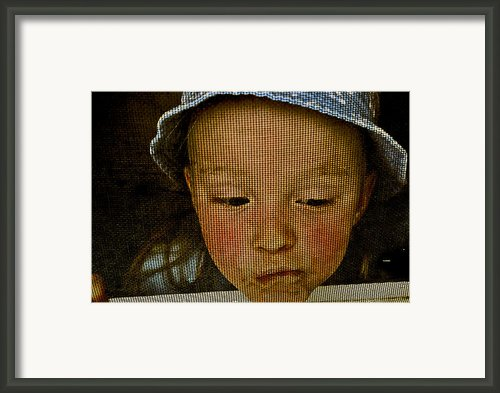 What All Kids Do Framed Print By Aimelle