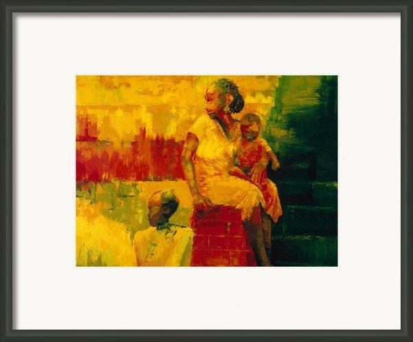 What Is It Ma Framed Print By Bayo Iribhogbe
