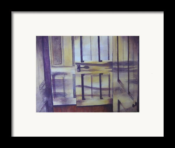 When One Door Closes Framed Print By Patsy Sharpe